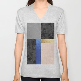Geometric art VIII Unisex V-Neck