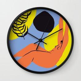 Pool abstract Wall Clock