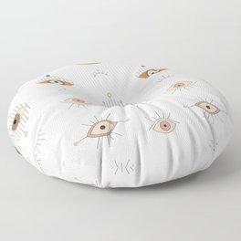 Magic Evil Eye Pattern Floor Pillow