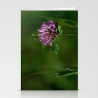 clover Stationery Cards featuring Clover by Dorothy Pinder