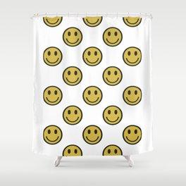 Smileys Shower Curtain