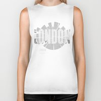 london map Biker Tanks featuring London Map by Shirt Urbanization