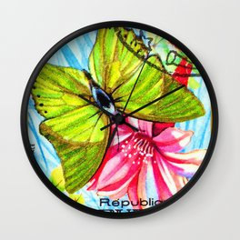 Butterfly Charaxes Eupale Wall Clock