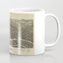 Aerial View of Buckhannon, West Virginia (1900) Coffee Mug