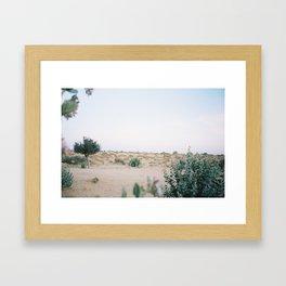 Thar desert sunrise Framed Art Print