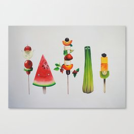 Healthy Sticks Canvas Print