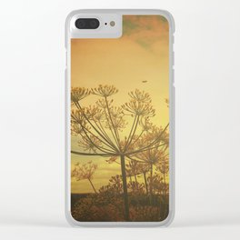 Summer Enchantment Love Clear iPhone Case