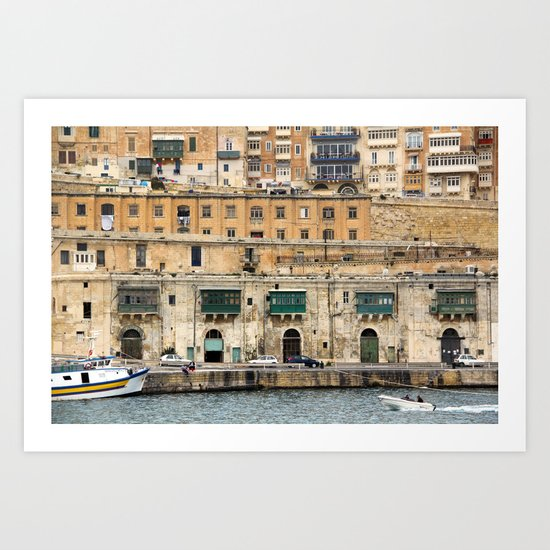 Malta 24 Art Print
