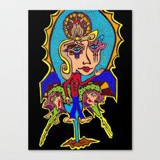 Mary Sunflower Canvas Print