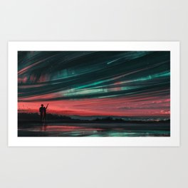 Stars and You Art Print
