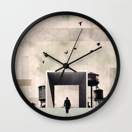 I am going to work Wall Clock