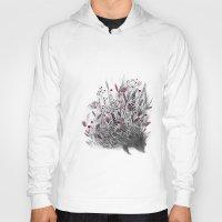 hedgehog Hoodies featuring Hedgehog by Linette No
