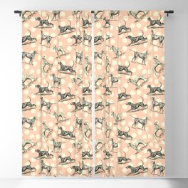 Dalmatian Dogs Pattern Blackout Curtain