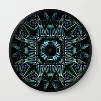 square Wall Clocks featuring Square by GC