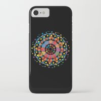 circles iPhone & iPod Cases featuring Circles by Scalifornian