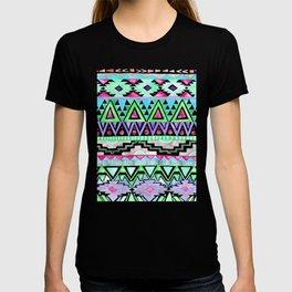 Watercolor Aztec Pattern Mint T-shirt