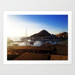 The Marina View - Cabo San Lucas Art Print