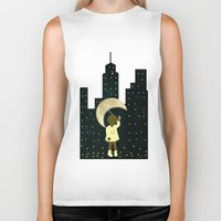 starry night Biker Tanks featuring Starry Night by Bluepress