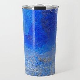 Lisbon blue #2 Travel Mug