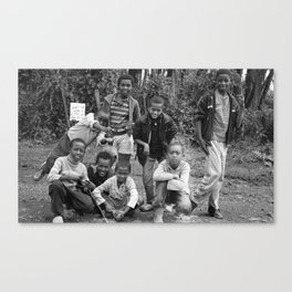 Ethiopian Kids Canvas Print