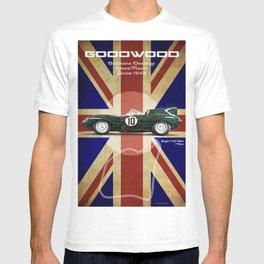 Goodwood Vintage Jaguar D-Type T-shirt