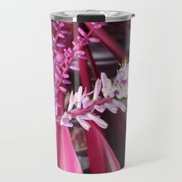Tropical Flowers Travel Mug
