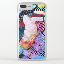 The Origin of the Aracari ( Toucan Bird Whisperer Project ) Clear iPhone Case