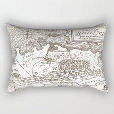 Map of Bohemia Rectangular Pillow