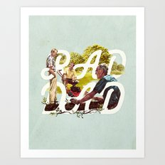 Rad Dad II Art Print