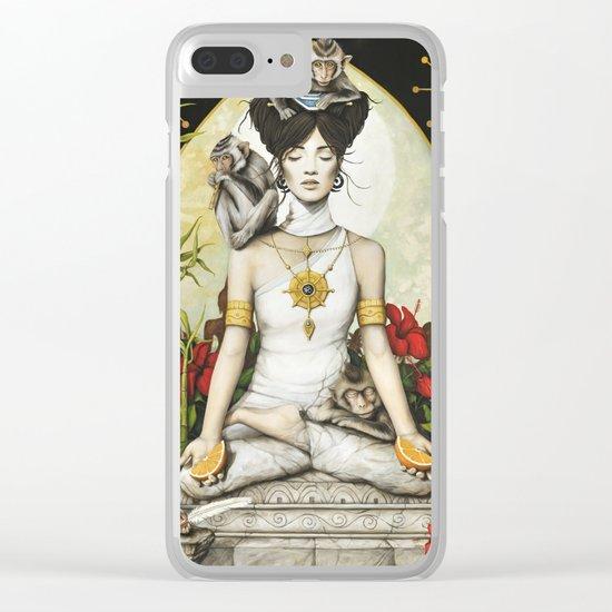 Sérénité Clear iPhone Case