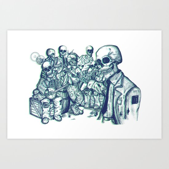We've Been Expecting You Art Print