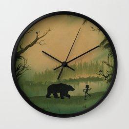The Jungle Book by Rudyard Kipling Wall Clock