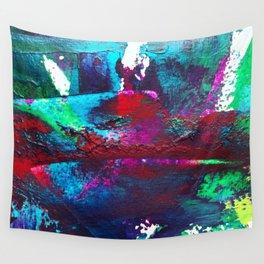 Seeing Aubergine Wall Tapestry