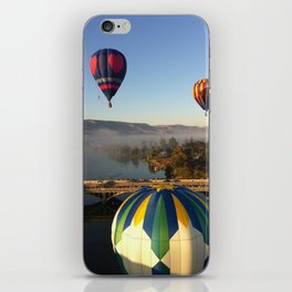 Wine Country Hot Air Balloon, Prosser Washington iPhone Skin