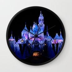 Sleeping Beauty's Winter Castle Wall Clock