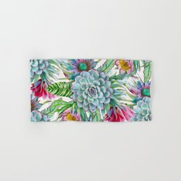 Exotic flower garden Hand & Bath Towel