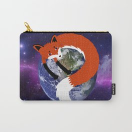 Fox in the Universe Carry-All Pouch