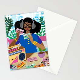 Cassette Player Stationery Cards