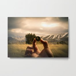 The Things You Find Along the Way Metal Print