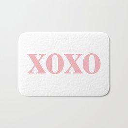 Coral XOXO Bath Mat