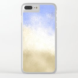 Ocean Waves Abstract Clear iPhone Case