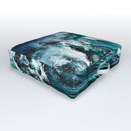 Wave Series Photographic Portrait #2 - Jéanpaul Ferro Outdoor Floor Cushion