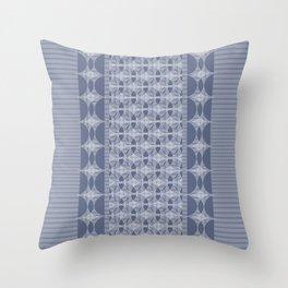 Astroid violet Throw Pillow