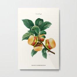 BURGER PLANT Metal Print