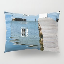 The Blue Boat House Pillow Sham