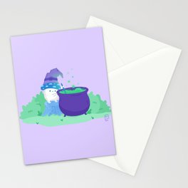 Mushroom Witch   Potion Making 101 Stationery Cards