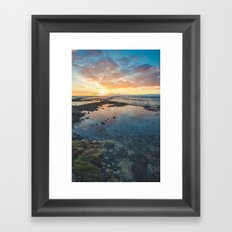 Big Island Sunset Framed Art Print