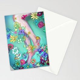 Flower Bath 2 Stationery Cards