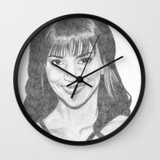 Halle Berry Wall Clock