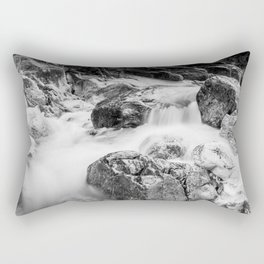 ruscello tra i sassi Rectangular Pillow